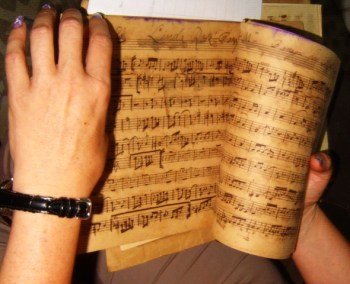 Aniceto Diaz partituras recuperadas y digitalizadas