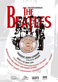 Parque John Lennon logo 50 del Sgt Pepper's