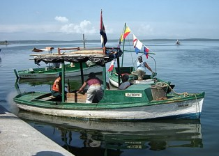 Cuban Fishing, 3-12-15, Fishing Boat, West Coast, Cuba by Rod Waddington, Via Creative Commons.