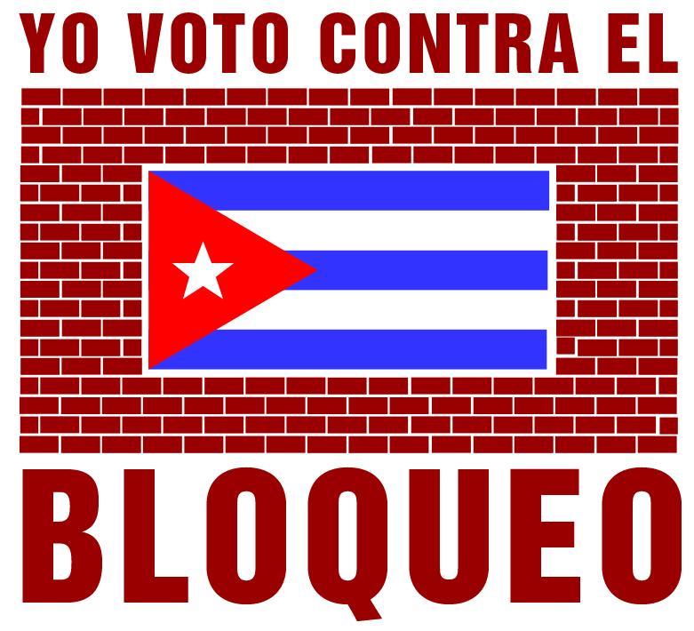 Yo voto contra el bloqueo