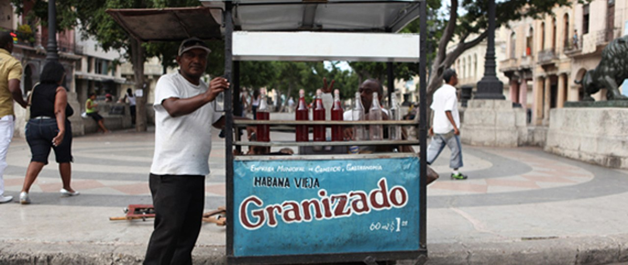 Local entrepeneur in Cuba