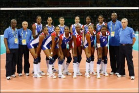 Equipo Cuba participante en los Juegos Olímpicos Beijing 2008