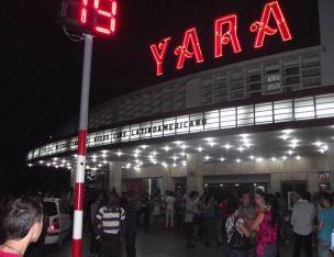 Cine Yara en el Vedado capitalino