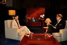 Lizt Alfonso en el programa televisivo Con 2 que se quieran