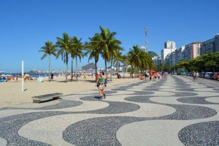 Paseo de Copacabana