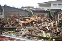 Lo que dejó el huracán Matthew tras su paso por Baracoa