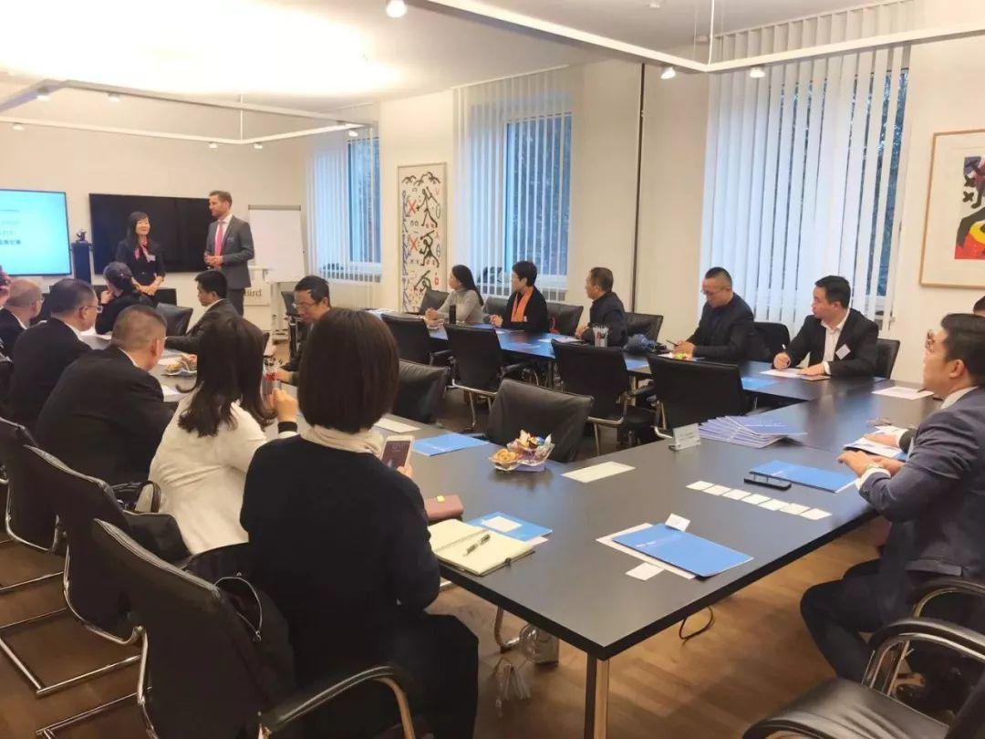巴伐利亚中国企业促进会(CUB)成功对接成都市楼宇经济促进会(CABEP)