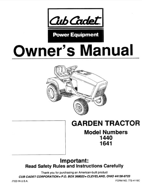 1440 Cub Cadet Wiring Diagram, 1440, Get Free Image About