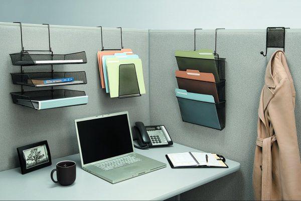 Cubicle File Hangers  Cube Decor Zone