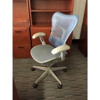 Herman Miller Mirra Blue Grey Chair