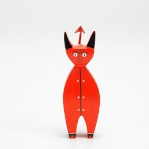 Alexander Girard little devil wooden doll by Vitra