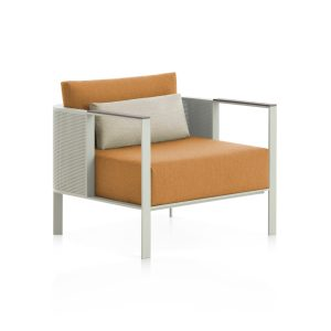solanas-lounge-chair-agape-grey-1 with dekton from Gandiablasco, designed by Daniel Germani
