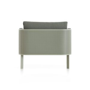 solanas-lounge-chair-cement-grey-1 with dekton from Gandiablasco, designed by Daniel Germani