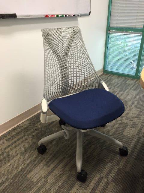Herman Miller Sayl Chair No Arms  CubeKing