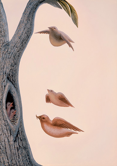 Family of birds, di Octavio Ocampo