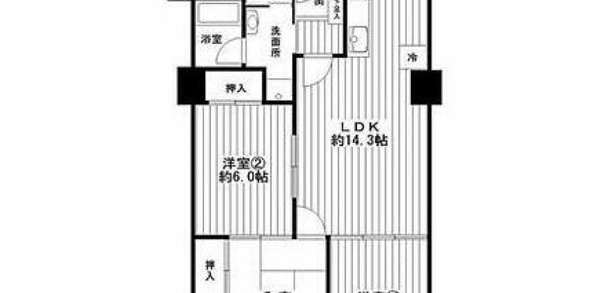 平野区売りマンション。