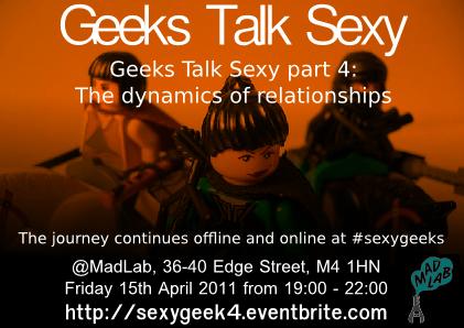 Geeks talk sexy 4