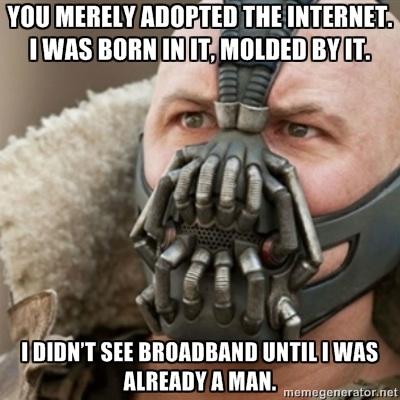 Adopt the internet