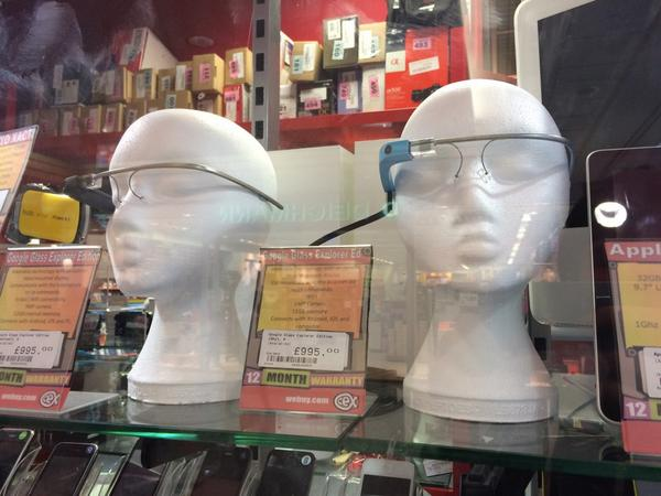 Google Glass in CEX
