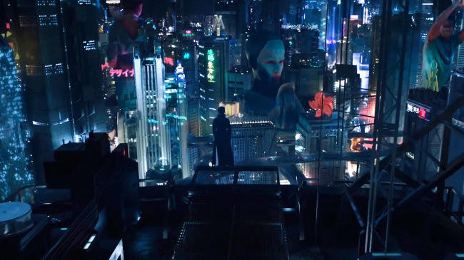 Ghost in the shell 2017 screenshot