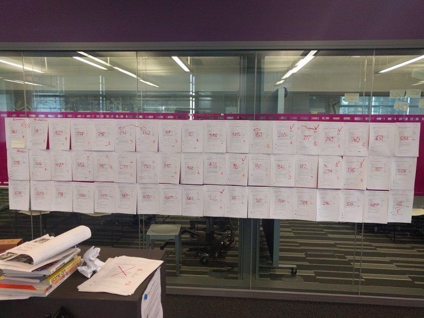 The wall of mozfest issues in the decentralisation space