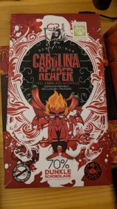 Carolina Reaper Dark Chocolate