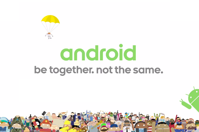 Android: Be together not the same
