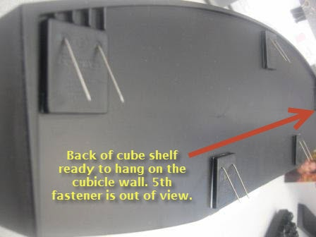 Enhance your Office Cubicle Decor with a Cubicle Shelf