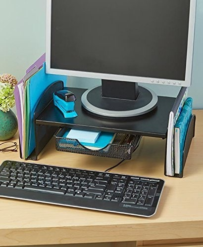 Computer Monitor Organizer  a Readers Review