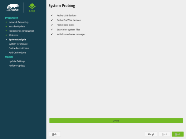 openSUSE Leap 15.1 Upgrade 2