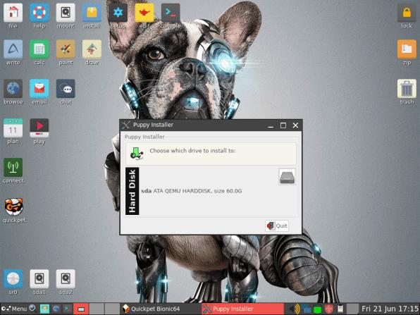 PuppyLinux VM 19