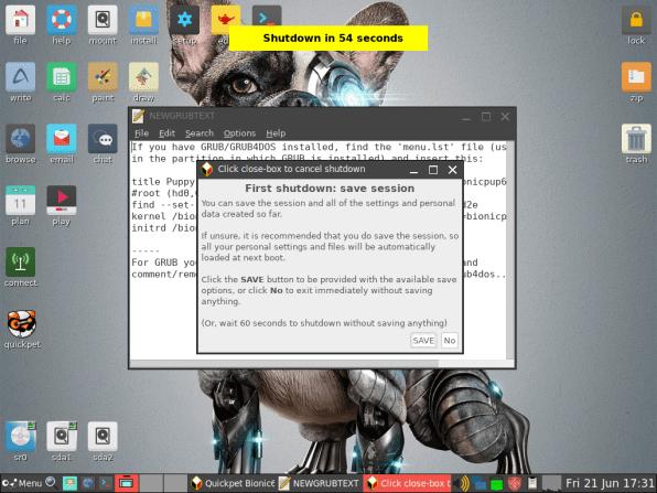 PuppyLinux VM 34