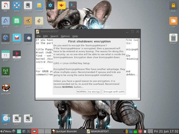 PuppyLinux VM 39