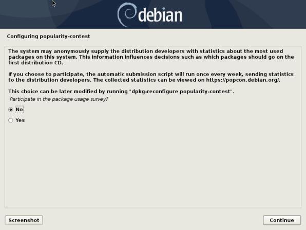 Debian 10 25 Installation