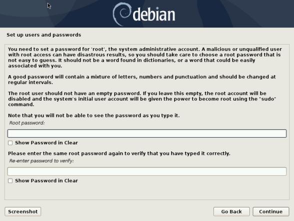 Debian 10 8 Installation