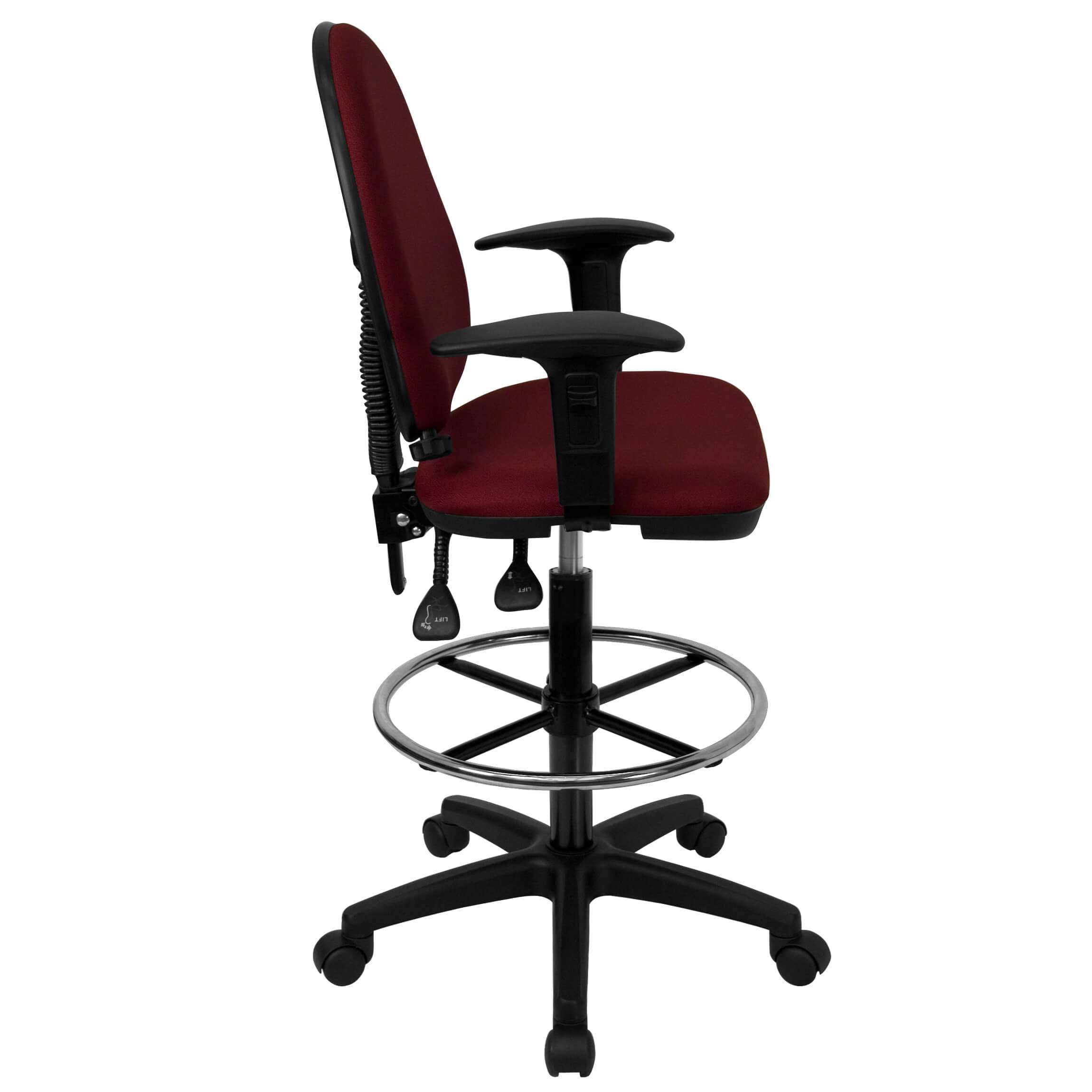 Adjustable Drafting Chair Ursa Petite Adjustable Drafting Chair