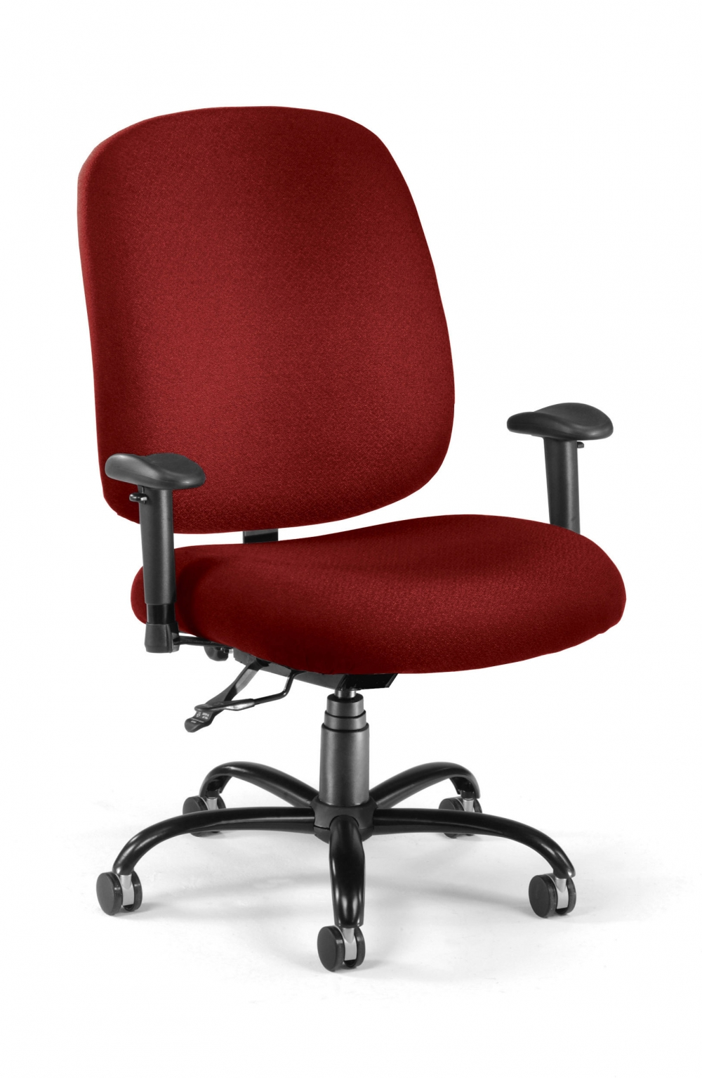Red Desk Chair Pollux Heavy Duty Desk Chair