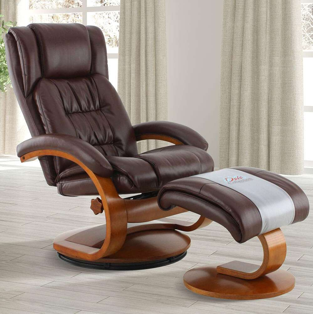 Modern Recliner Chair Walsh Reclining Leather Chair