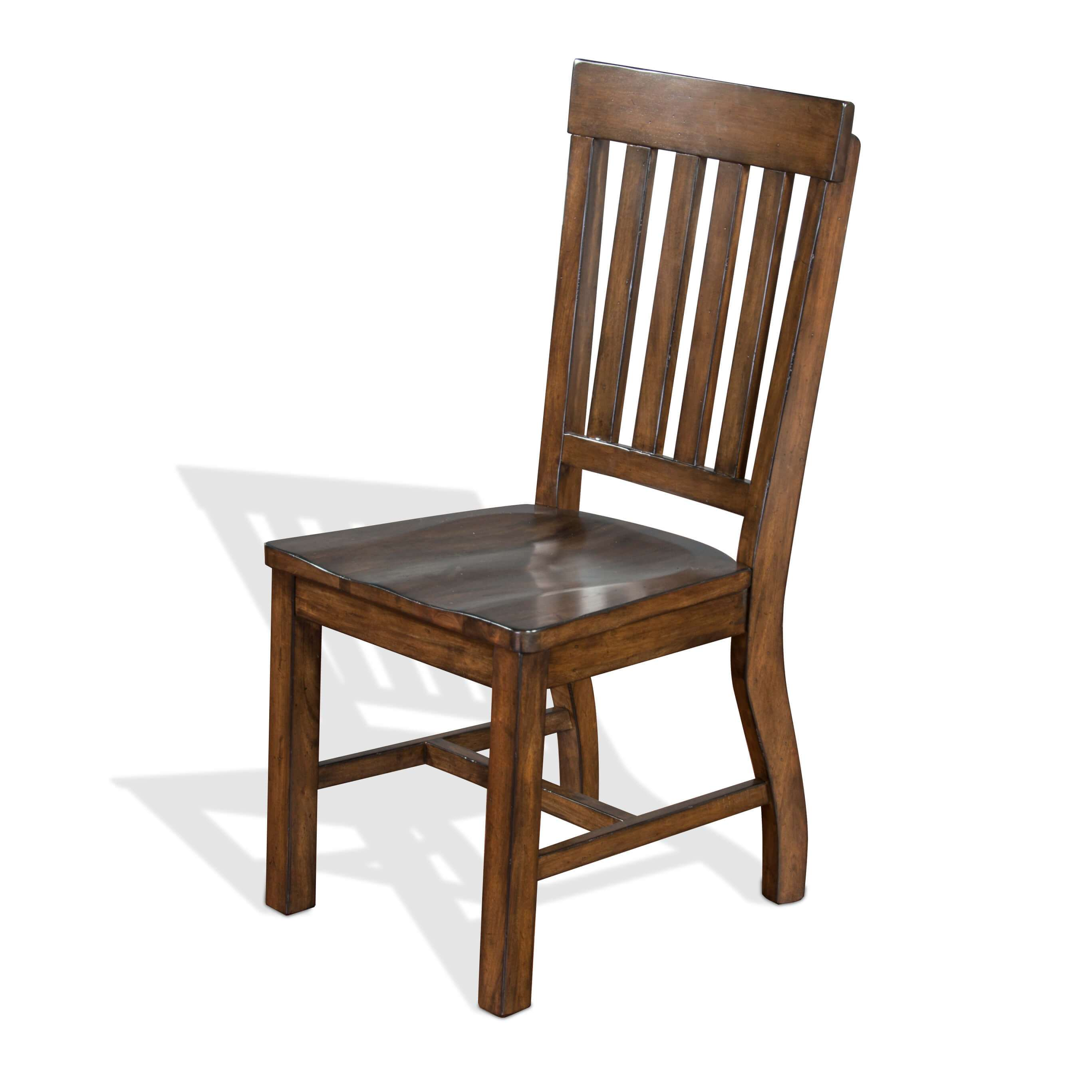 Rustic Wood Chairs Asheville Rustic Wood Dining Chair