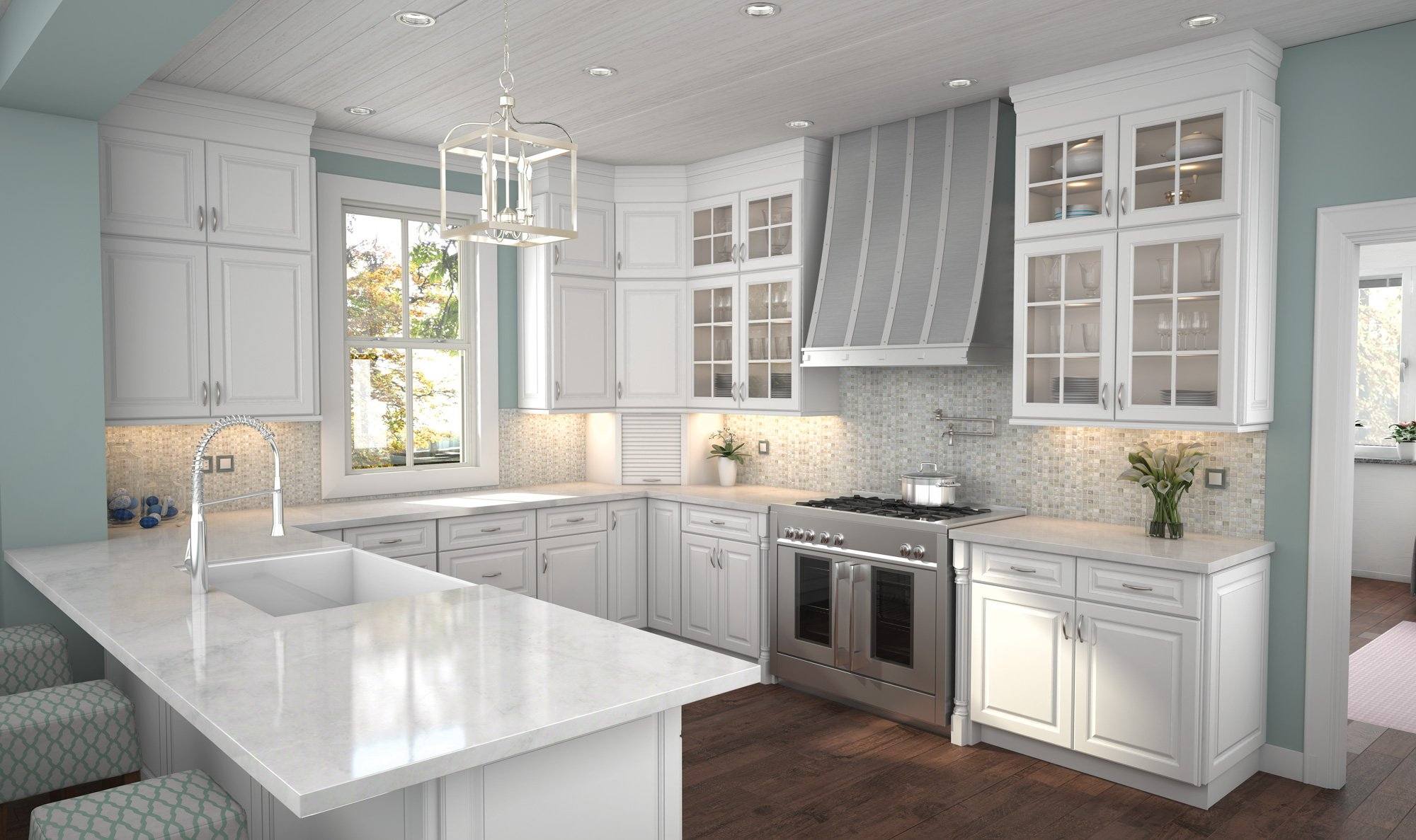 Newport Latte Cubitac Cabinetry