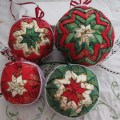 Quilted christmas balls instructions http cubits org christmas