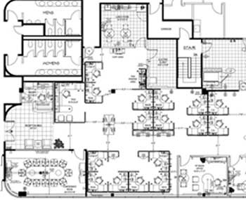 Office Design Layout Drawings Establish Work Space and