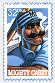 Mighty Casey Stamp