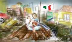 Giuseppe Bucolo-Alluvione in Sicilia
