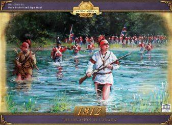 Portada de 1812 The Invasion of Canada