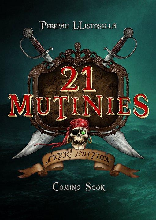 Poster promocional de 21 Mutinies, ilustrado por Checho Nieto