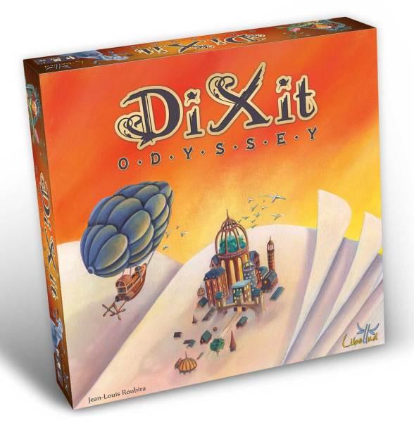 Caja del nuevo Dixit Odyssey