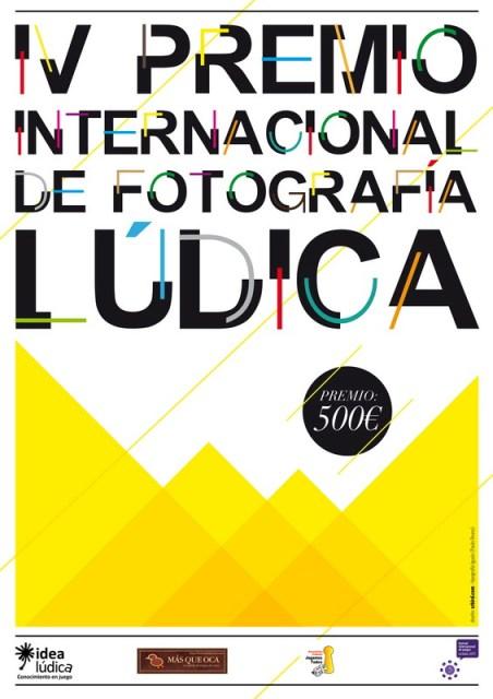 Cartel anunciador del IV Premio Internacional de Fotografía Lúdica