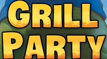 Fragmento de la portada de Grillparty