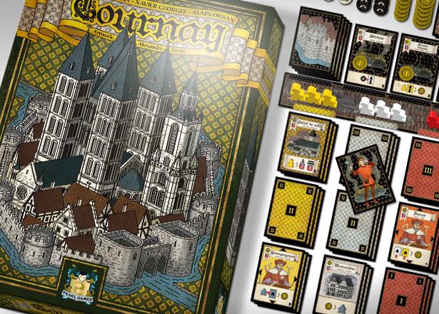 Caja y cartas de Tournay